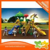 La place extérieure d'enfants de matériel de cour de jeu glisse en vente