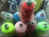 Doppio filato di poliestere coperto di gomma 907575 per i calzini Latex+Polyester/Nylon