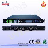 Amplificador óptico de la fibra de CATV FTTH 1550nm Pon EDFA con el Wdm
