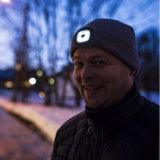 La vente en gros rechargeable de Beanie du chapeau la plus neuve USB DEL