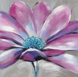 Peinture à l'huile colorée de décoration de maison d'impression de toile de fleur
