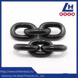 G80 Noir oxydé/peinte/revêtement poudré en plastique de la chaîne de levage