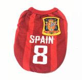 卸し売りペット製品のフットボール・チーム犬はスポーツペット衣服に着せる