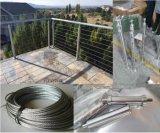 Пол из нержавеющей стали для установки на провод кабеля Balustrade поручни декорированных ограждения