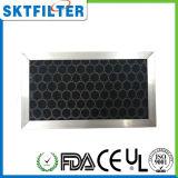 Сот активированного угля заполненный фильтром внутри