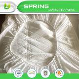 Protezione impermeabile di bambù del materasso della greppia del bambino del Terry dell'errore di programma bianco della Anti-Base