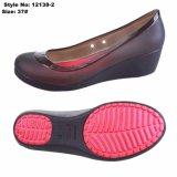 Women PVC方法女性かかとが付いている4つの季節浜のゼリーの靴