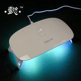 못 건조기 LED 램프 (백색) 센서와 LCD 디스플레이 매니큐어와 가진 UV LED 못 램프 젤 빛 (Rainbow1)