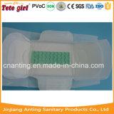 Het uiterst dunne Stootkussen van /Sanitary van het Maandverband van het Anion van het Ontwerp van de Manier/Sanitaire Handdoek voor Dame