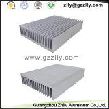 Dissipatore di calore di alluminio dell'espulsione anodizzato colore differente