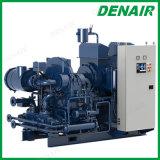 Libre de aceite refrigerado por agua de alimentación de CA Oilless compresor de aire centrífugos