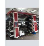 Máquina de impressão grande Flexographic do papel de rolo da película plástica da cor da máquina de impressão de 8 cores multi