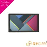 7インチのSDのカードが付いている超薄い壁の台紙LCDのモニタ