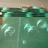 4mm 5mm 6mm de estante de cristal templado, Templado de Vidrio de la mesa