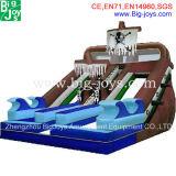 大人のサイズ膨脹可能な水スライド、巨大で膨脹可能なスライド(DJWS014)