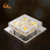 다이아몬드 반지 펀던트 LED 빛 3 원형 샹들리에 천장