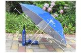 Parapluie promotionnel de forme de bouteille de vin de poste de cadeau