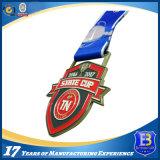 サッカーのスポーツのゲームの円形浮彫りカスタム賞メダル