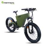 """26 """"脂肪質のタイヤの電気自転車1000W"""