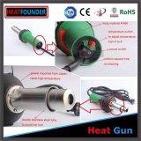 canon de chaleur 1600W avec la température