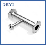 Hygienic Sanitary Stainless Steel 316 Reducing Tee Pipe Fittings Tee