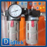 Didtek pneumatischer Absperrschieber des Flansch-Wc6 für Raffinerie