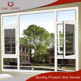 G&F Jinfu Aluminiumflügelfenster-Fenster mit Fliegen-Bildschirm