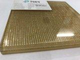 5mm+5mm ausgeglichenes lamelliertes Draht-Glas für Innendekoration (PLW-TP)