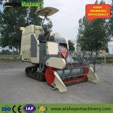 máquina segadora 4lz-5.0 con el tanque grande del arroz en la India