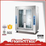 Rotisserie vertical électrique d'intérieur de poulet d'acier inoxydable