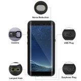 Tampa Shockproof da graxa da sujeira impermeável do caso para a galáxia S8 de Samsung
