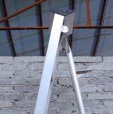 Ladder 6 van het Aluminium van het Lassen van de driepoot Stappen 1.98 M