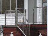 Facile installer le fil d'escaliers clôturant le câble de verticale de balustrade d'acier inoxydable