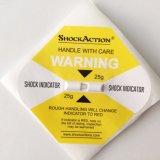 Het Etiket Repacement Shockwatch van het effect voor de Controle van de Schade