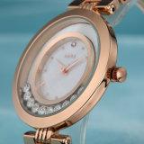 Geschäfts-Uhr-Edelstahl-Uhr mit Unisex (Wy-029C)