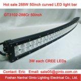 Hete Verkoop! CREE 288W 50 '' Curved LED Light Bar voor Offroad