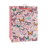 Bolsas de papel diarias coloridas rayadas del regalo del arte de las necesidades
