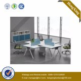 Aluminum Furniture L Shape Workstation Office Partition (UL-NM058)