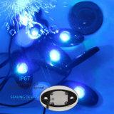 LED 바위 빛 Smartphone APP 의 차 배를 위한 1개 장비에 있는 Bluetooth 통제 4PCS 6PCS 8PCS 12PCS
