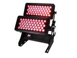 600W IP65 imprägniern zwei Schichten des LED-Stadt-Farben-Licht-96*18W 6in1 Rgbaw UVled Wand-Unterlegscheibe-Licht-für Ereignis-Verein