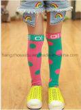 Сверхсчетный покрашенный носок платья малышей носка пробки