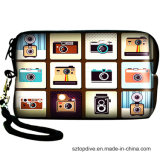 Caixa de venda quente da câmera de Digitas do neopreno do projeto barato novo da forma mini