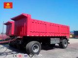 Настраиваемые 2 осей 40 тонн полной разгрузки прицепа трактора прицепа