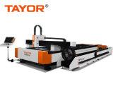 Tagliatrice del laser di CNC della lamina di metallo & del tubo 1000W