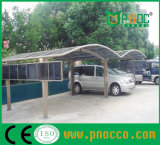 Loods van het Parkeren van de Auto van de Auto van het Dak van het Polycarbonaat van de Structuur van het aluminium de Afbaardende