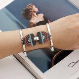 Regalo aperto del braccialetto del braccialetto del bracciale dell'armillo del polsino del braccio superiore di Geo della curva della barra dell'Egitto di modo