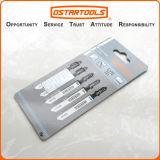 T118af 비스무트 Metal T-Shank 5PCS Metal Cutting Jig Saw Blade Set