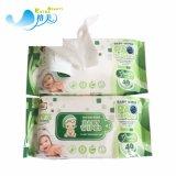Las toallitas húmedas de bebé llenar Pack sin alcohol barato de los tejidos para bebés