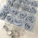 Boîte de présentation acrylique ronde d'approvisionnement de constructeur de la Chine pour des fleurs