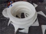 PA-weiße Nylonflache Plastikunterlegscheibe